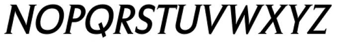 Crotona Italic Font UPPERCASE