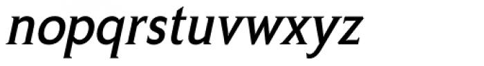 Crotona Italic Font LOWERCASE