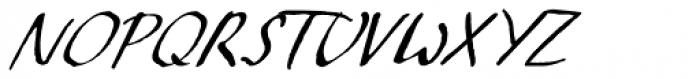 Crowfeather Script Italic Font UPPERCASE