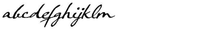 Crowfeather Script Italic Font LOWERCASE