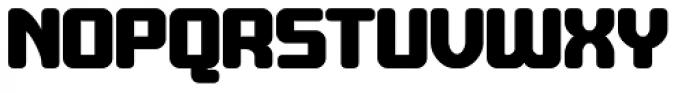 Crubster Bold Font UPPERCASE