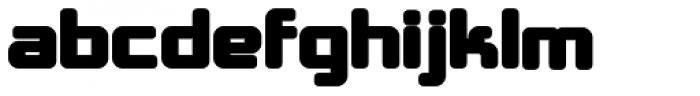 Crubster Bold Font LOWERCASE