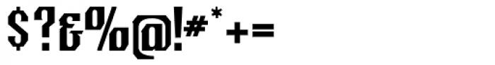 Crucifix Unicase Font OTHER CHARS