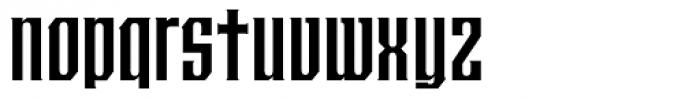 Crucifix Unicase Font LOWERCASE