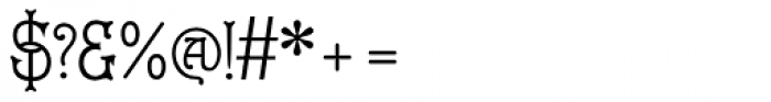 Cruickshank ML Font OTHER CHARS
