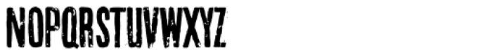 Crush Rough Font UPPERCASE
