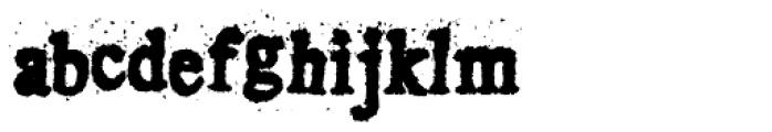 Crusti EST Font LOWERCASE