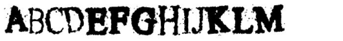Crusti Wac KY Font UPPERCASE