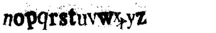Crusti Wac KY Font LOWERCASE