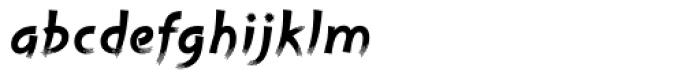 Cruz Handy Bold Font LOWERCASE