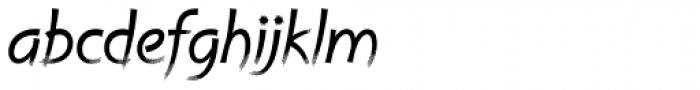 Cruz Handy Swash Light Font LOWERCASE