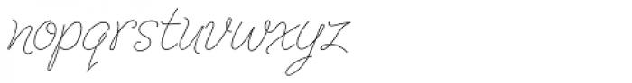 Cruz Script Ballpoint Pro Font LOWERCASE