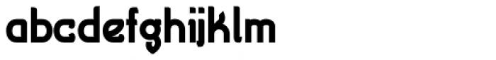Cryptolucre Bold Font LOWERCASE