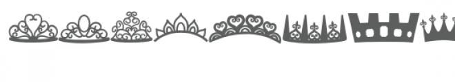 crowns doodlebat Font UPPERCASE