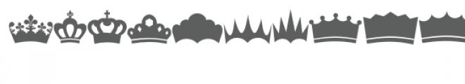 crowns doodlebat Font LOWERCASE