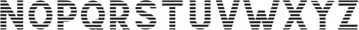 CS Gordon Strip otf (400) Font UPPERCASE