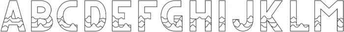CS Juicy Regular otf (400) Font UPPERCASE