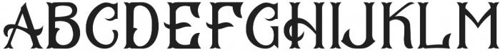 CS Mulan Regular otf (400) Font UPPERCASE