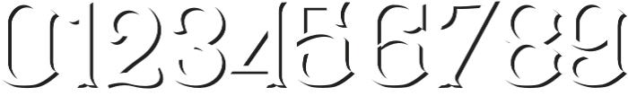 CS Mulan Shadow otf (400) Font OTHER CHARS
