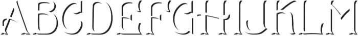 CS Mulan Shadow otf (400) Font LOWERCASE