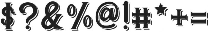 CS Rosalia Double otf (400) Font OTHER CHARS