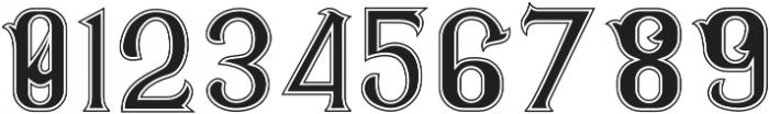 CS Rosalia Dropline otf (400) Font OTHER CHARS