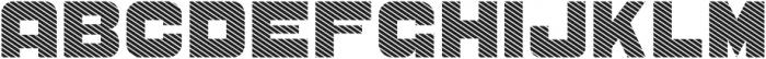 CS Sandreas Bold Line otf (700) Font UPPERCASE
