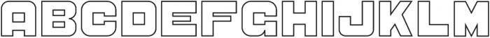 CS Sandreas Outline otf (400) Font LOWERCASE