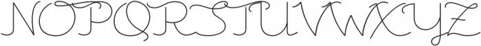 Csemege otf (400) Font UPPERCASE
