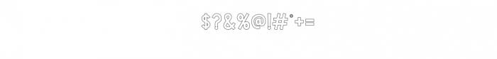 CS Harley Bold Outline.otf Font OTHER CHARS