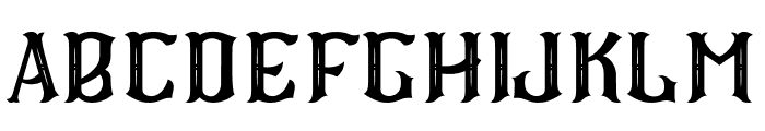 CS Roger Inner Font UPPERCASE