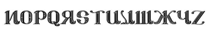 CSAR PARADE DRESS [Display Caps] Font UPPERCASE