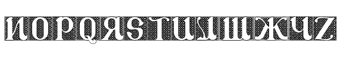 CSAR VESTMENT Font UPPERCASE