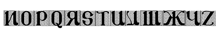 CSAR VESTMENT Font LOWERCASE