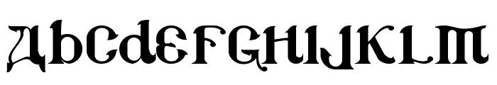 CSAR Font LOWERCASE
