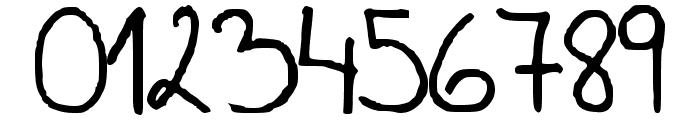 Csenge Handwriting Regular Font OTHER CHARS