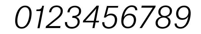 AtlasGrotesk LightItalic Reduced Font OTHER CHARS