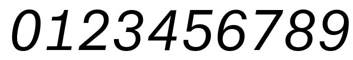 AtlasTypewriter RegularItalic Reduced Font OTHER CHARS