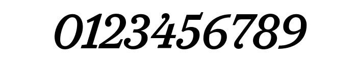 CaponiSlab MediumItalic Reduced Font OTHER CHARS