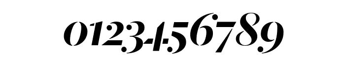 DalaMoa MediumItalic Reduced Font OTHER CHARS