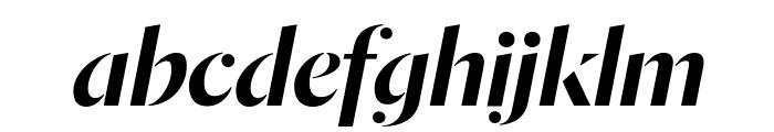 DalaMoa MediumItalic Reduced Font LOWERCASE
