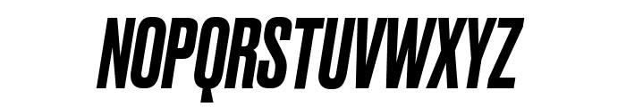 Druk MediumItalic Reduced Font UPPERCASE
