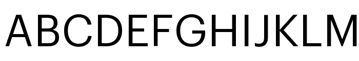 Graphik Regular Reduced Font
