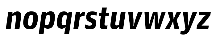 GuardianAgateSans DuplexBlackItalic Reduced Font LOWERCASE