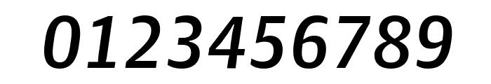 GuardianAgateSans DuplexMediumItalic Reduced Font OTHER CHARS