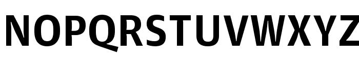 GuardianAgateSans G1Bold Reduced Font UPPERCASE