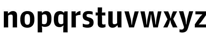 GuardianAgateSans G1Bold Reduced Font LOWERCASE