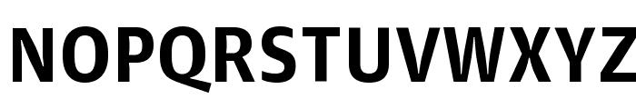 GuardianAgateSans G2Bold Reduced Font UPPERCASE