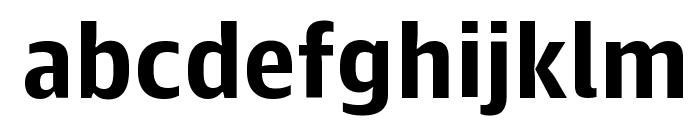 GuardianAgateSans G2Bold Reduced Font LOWERCASE