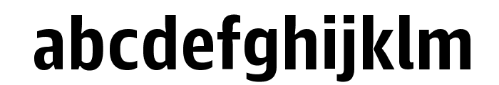 GuardianAgateSans G2DuplexBold Reduced Font LOWERCASE